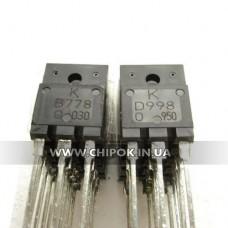 2SB778+D998 TO-3P