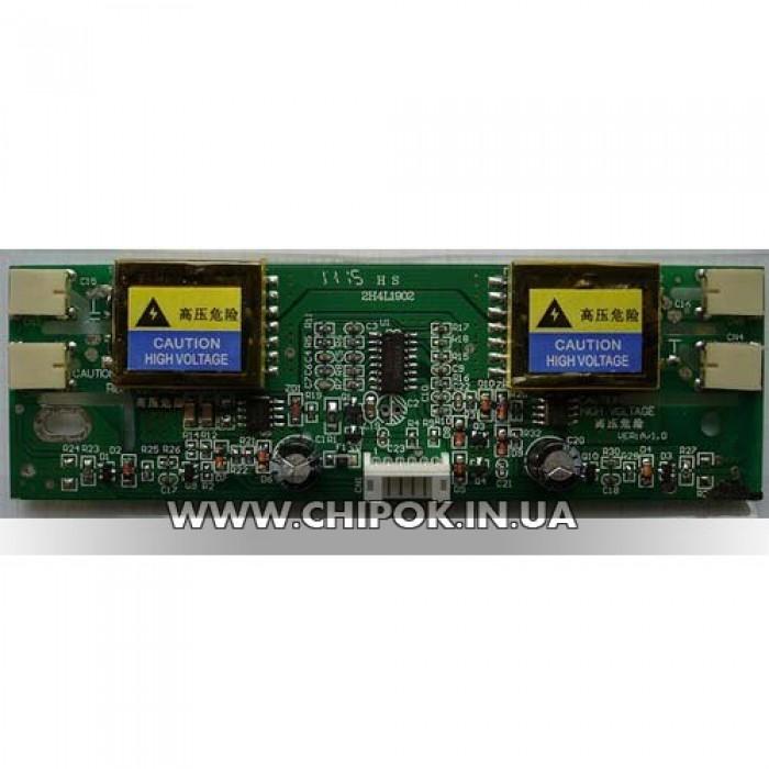 Инвертор LCD 4 лампы 12V small HS-2H4L1902 130x40mm