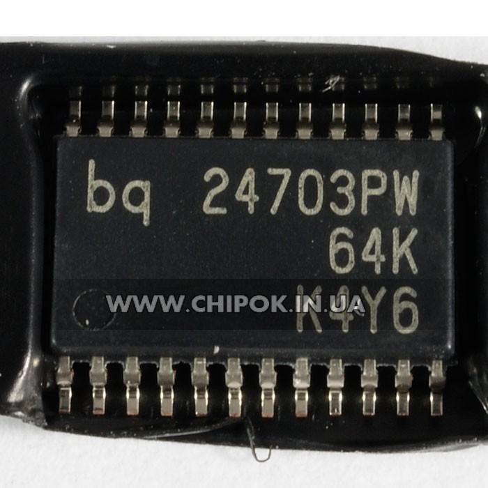 BQ24703PW SO-24 контроллер заряда батареи