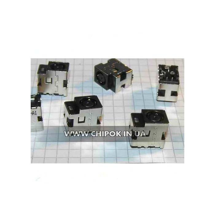 Разъём для ноутбука DC JACK HP Pavilion 15 с LED для 3pin кабеля