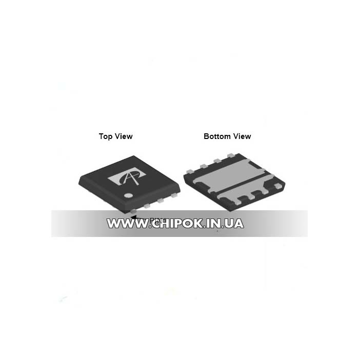 AON6908A 30V Dual Asymmetric N-Channel MOSFET