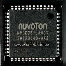 NPCE781LAODX мультиконтроллер Nuvoton микросхема для ноутбука