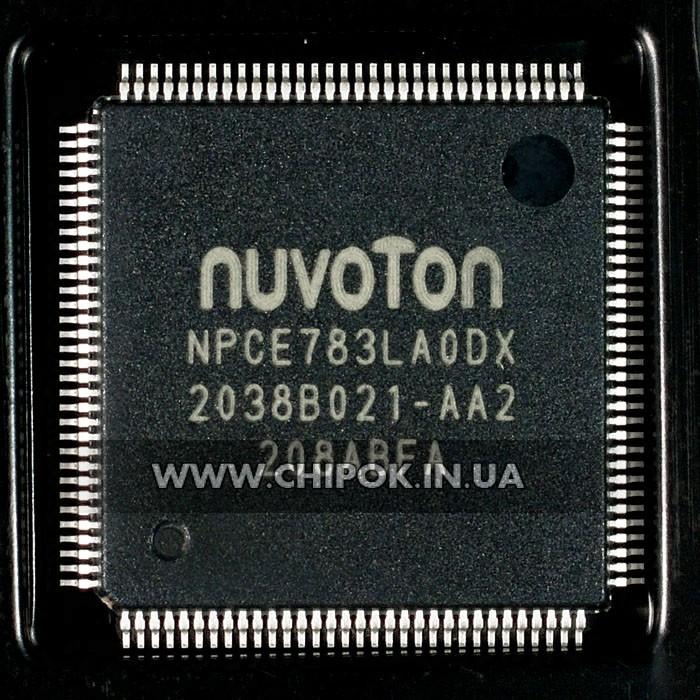 NPCE783LAODX мультиконтроллер Nuvoton микросхема для ноутбука
