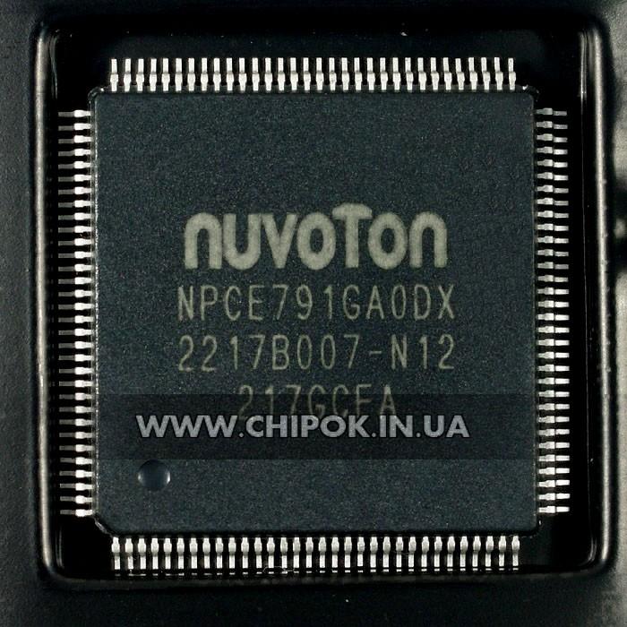 NPCE791GAODX мультиконтроллер Nuvoton микросхема для ноутбука