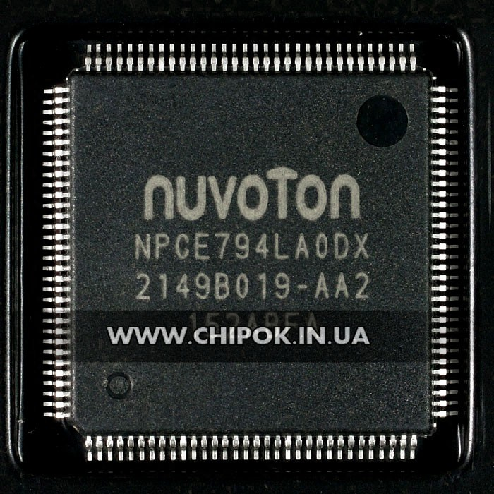NPCE794LAODX мультиконтроллер Nuvoton микросхема для ноутбука