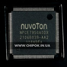 NPCE795GAODX мультиконтроллер Nuvoton микросхема для ноутбука