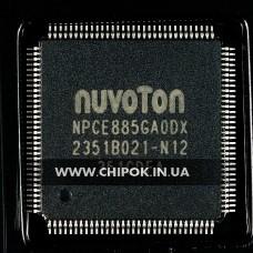 NPCE885GAODX мультиконтроллер Nuvoton микросхема для ноутбука
