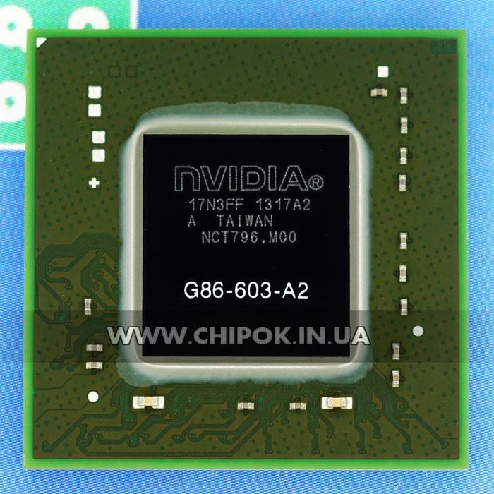 G86-603-A2 видеочип nVidia GeForce 8400M GT