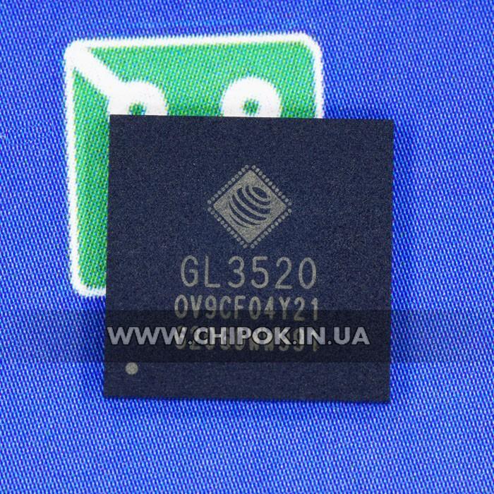 GL3520 контроллер USB 3.0 QFN 88
