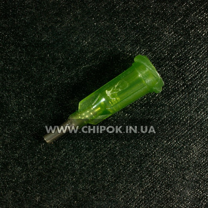 Насадка-дозатор для шприцов флюса/зеленки d1.84/1.55мм