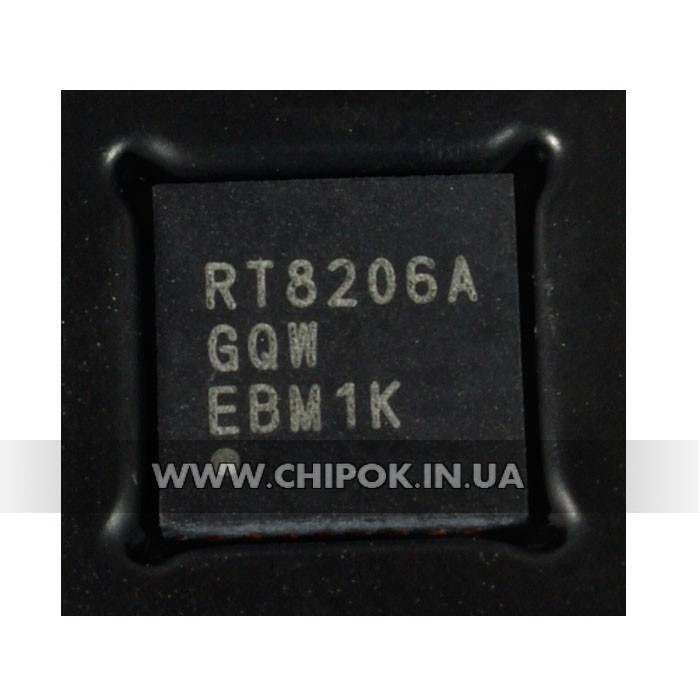 RT8206A Контроллер блока питания ноутбука