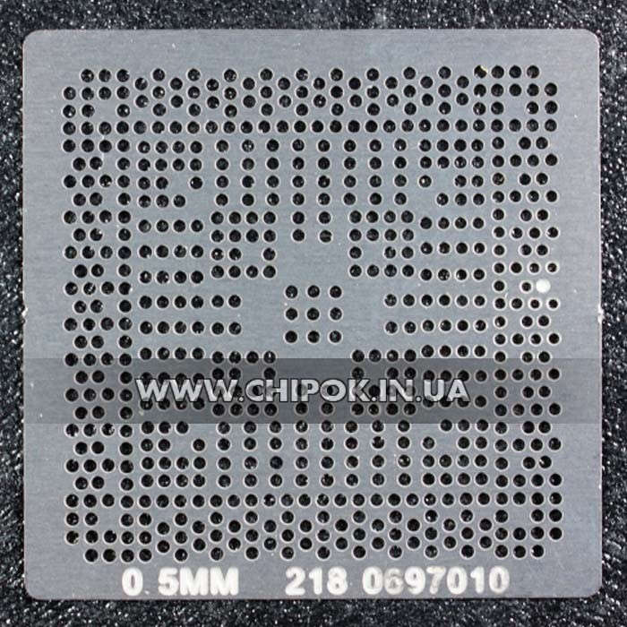 Трафарет ATI 218-0697010 218-0697014 218-0697020 218-0792006 0,5мм