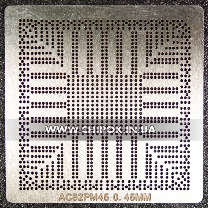 Трафарет intel AC82PM45 AC82GM45 AC82GL40