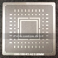 Трафарет NVidia G80-100 0,6мм