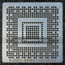 Трафарет NVidia G86-603-A2 G86-631-A2 G98-600-U2 N10M-GE2-S N11M-GE1-S-A3 N11M-GE2-S-B1 N12P-GV-S-A1 0,5мм