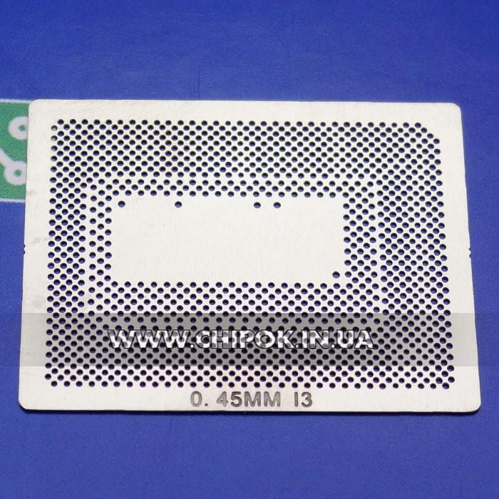 Трафарет BGA для CPU Процессора Intel I3 I7 2720QM SR00W SROOW 0.45мм