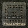 Трафарет MTK6325 0,3мм