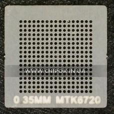 Трафарет MTK6720 0,35мм